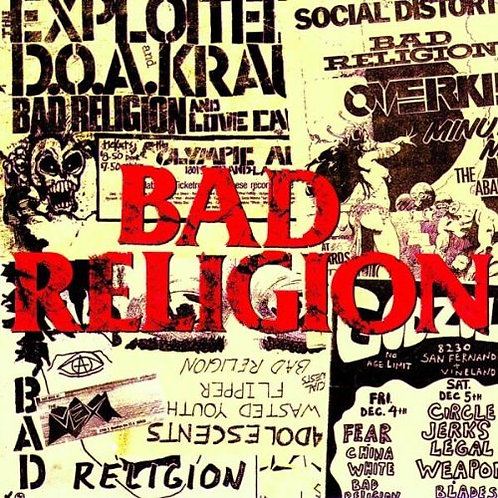 LP All Ages - Bad Religion