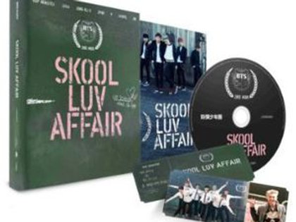 ALBUM CD Skool Luv Affair -  BTS