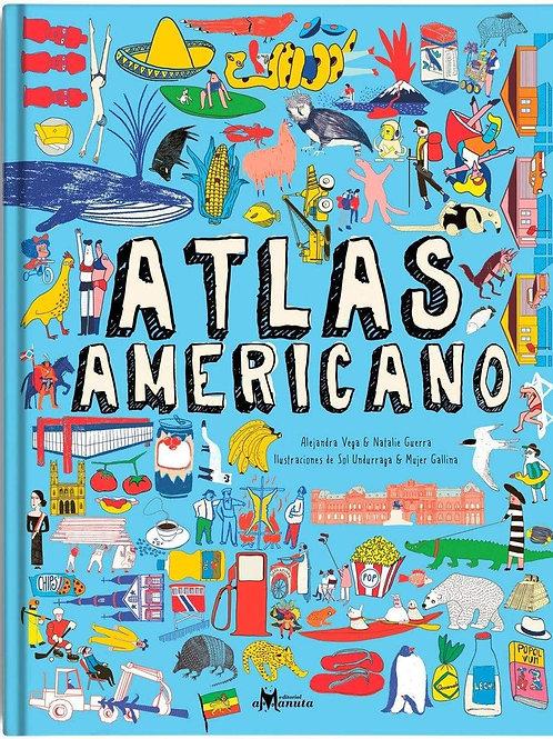 Atlas americano / Alejandra Vega - Natalie Guerra