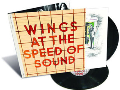 2 LP Wings At The Speed of Sound - Paul McCartney