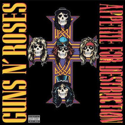 LP Appetite for Destruction - Guns N' Roses