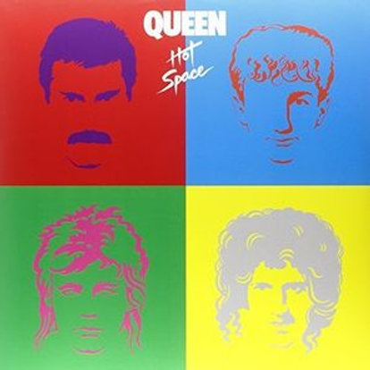 LP Hot Space - Queen
