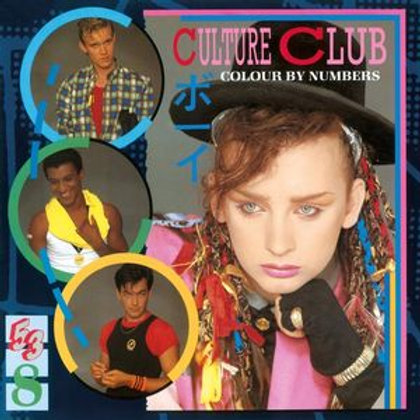 LP Colours By Numbers - Culture Club