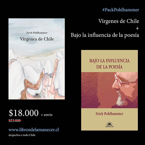 Pack Vírgenes de Chile + Bajo la influencia de la poesía