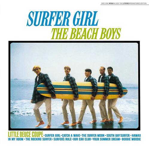 Lp Surfer Girl - Beach Boys -   Mono y Stereo