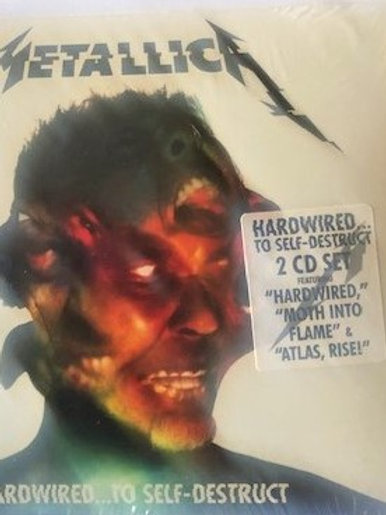 2 Cd Set  Metallica Hardwired To Self-destruct