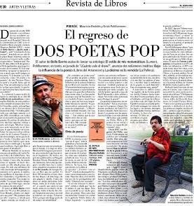 El regreso de dos poetas pop / El Mercurio