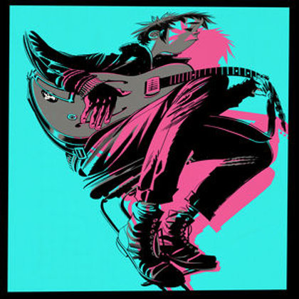LP The Now Now -Gorillaz
