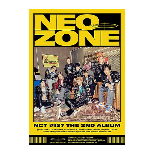(Cd) The 2nd Album 'NCT #127 Neo Zone