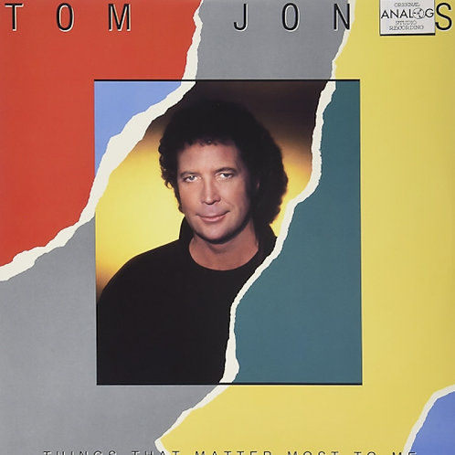 LP Things That Matter Most To Me - Tom Jones