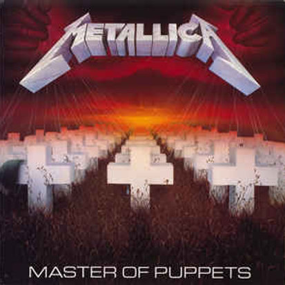 LP Master Of Puppets - Metallica