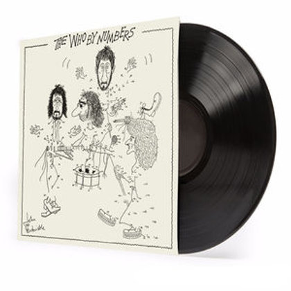 LP Who By Numbers - The Who