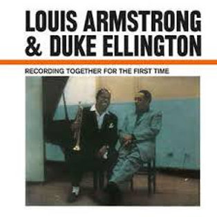 LP Recording Together For The First Time - Louis Armstrong & Duke Ellington
