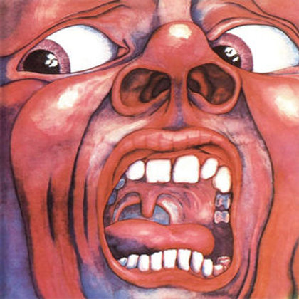 LP In the Court of the Crimson King - 	King Crimson