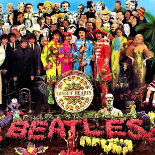 LP Sgt. Pepper's Lonely Hearts Club Band - The Beatles