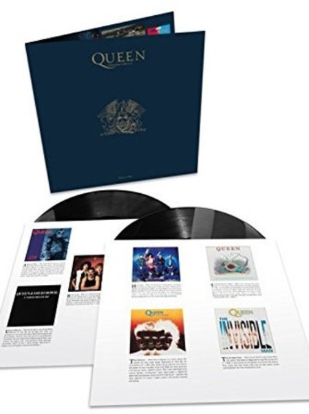 2Lp Greatest Hits  II  Queen