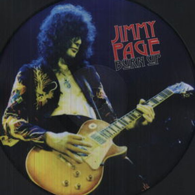 LP Burn  Up- Jimmy Page - Blue  Vinyl