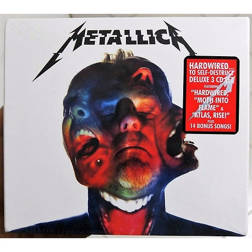 3 Cd Metallica Hardwired To Self-destruct With Deluxe Edition