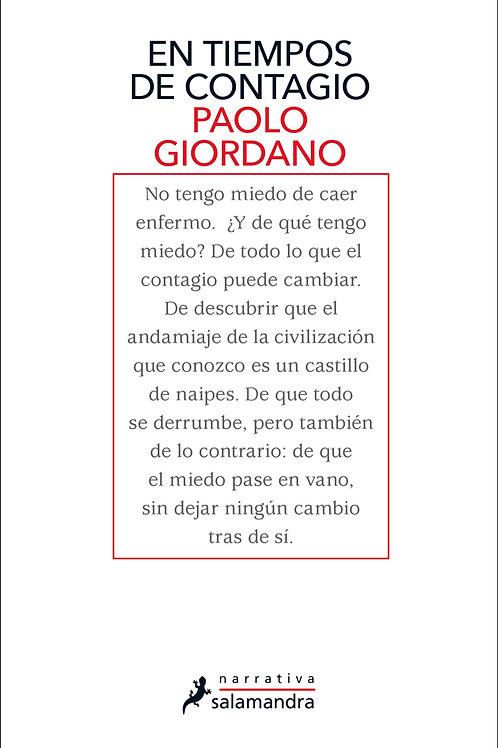 En tiempos de contagio / Paolo Giordano