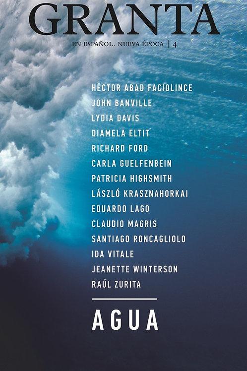 Revista Granta 4: Agua / VV.AA