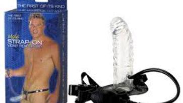 Male Strap-On Veiny Penis Pump