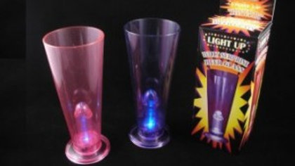 Light Up Willy Surprise Beer Glass 99749