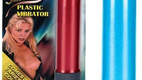 Pearlessence Silky Smooth 5-inch Plastic Vibrator 2V505M