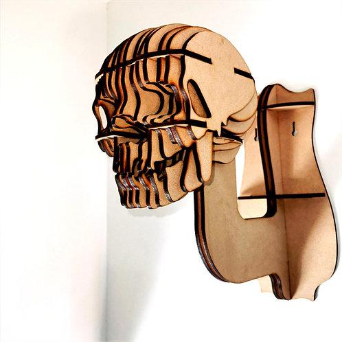 Helmhanger bouwpakket skull
