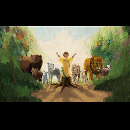 Peaceable Kingdom: Digital Art for Video Display