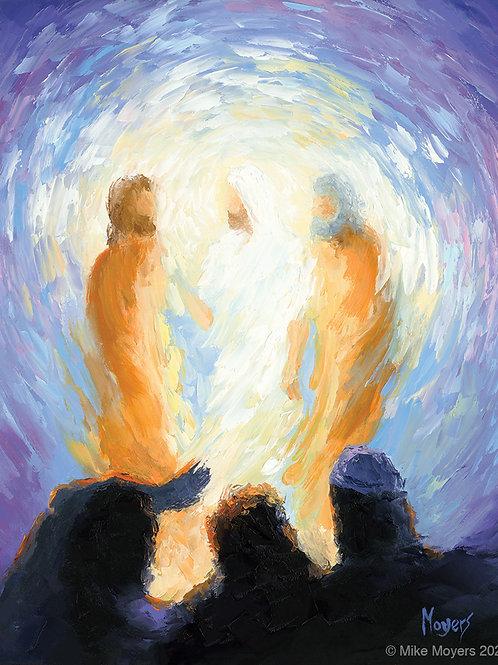 He Transfigured Before Them