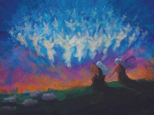 Gloria: 8x10 Digital Art for PRINT - Horizontal