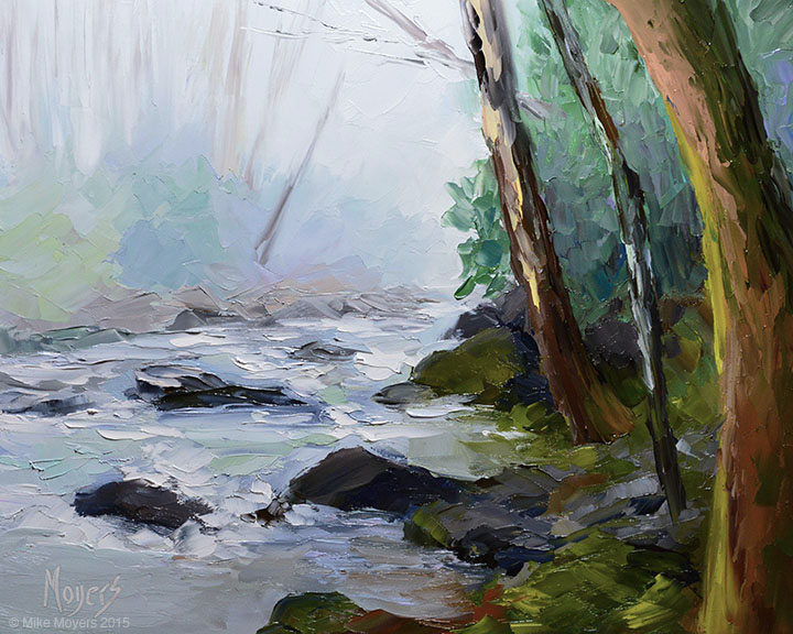 Foggy Mountain River