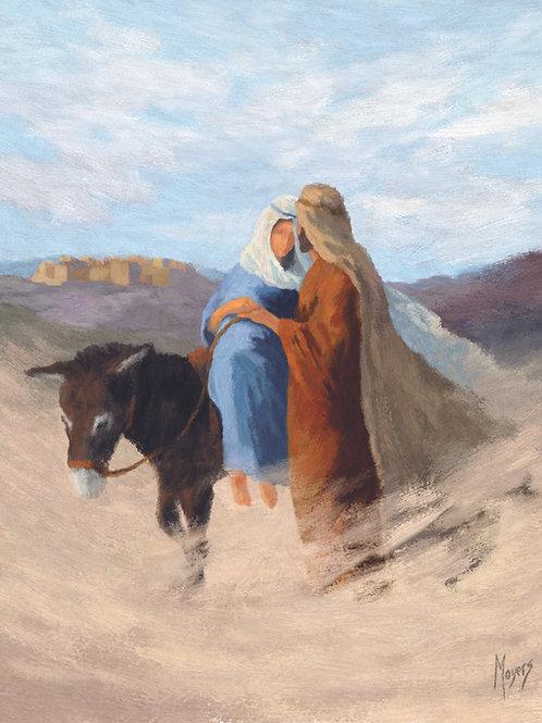 Advent Journey: 8x10 Digital Art for PRINT - VERTICAL