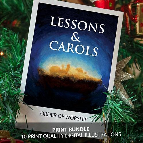 Lessons & Carols PRINT Bundle