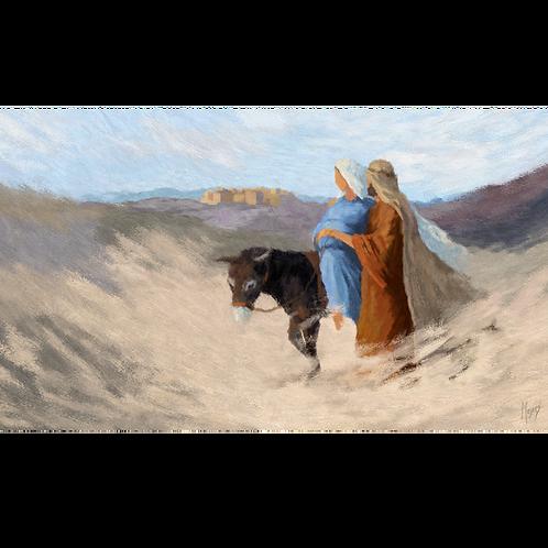To Bethlehem: Digital Art for Video Display