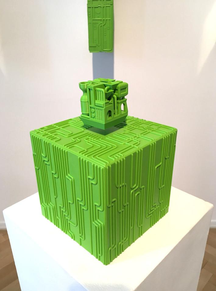 Meditation on a Machinic Cube