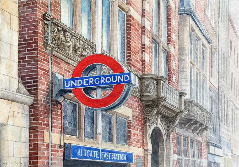 Aldgate East, London