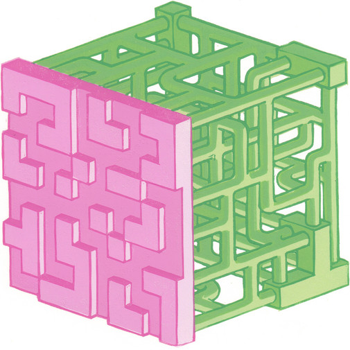 Cubic Maze I