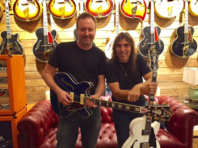 Steve Pisani owner and revivalist behind d'Angelico guitars