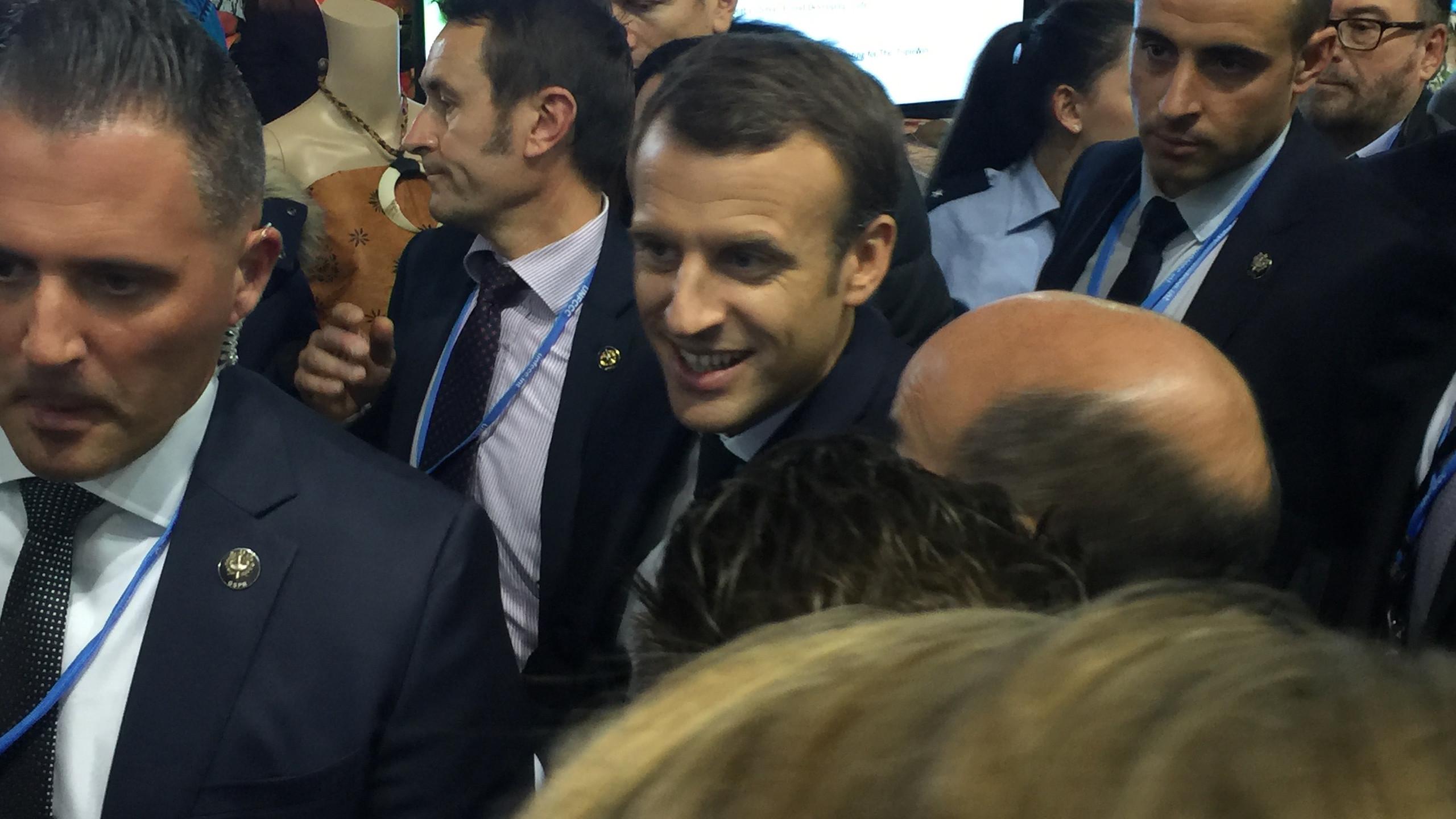Emmanuel Macron, President of France