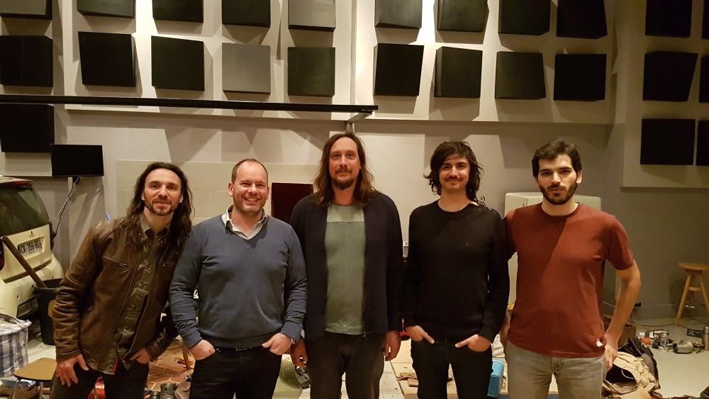 Left to Right: Greg, Steven, Nicolas, Olivier, Niels
