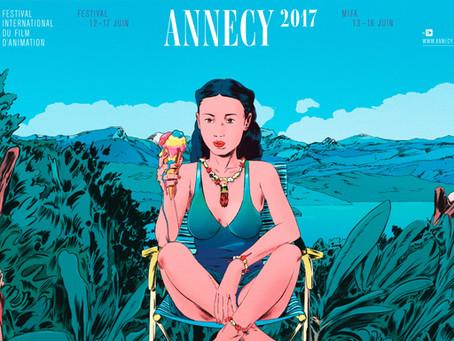 Plein de projets YC au Festival d'Annecy 2017!
