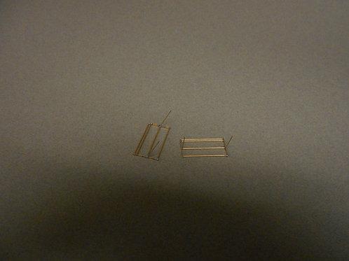 DM 302 Brass RPO  Mail Sack Racks 15 ft.( Pair )
