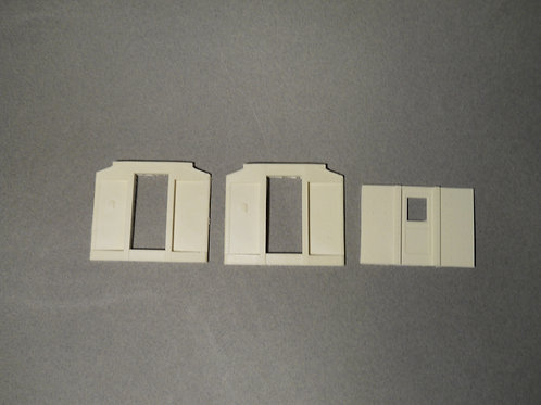 DM-226 Pullman Heavy Weight car ends recessed