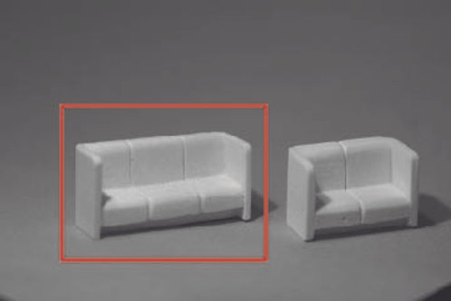 DM-137 Womens Lounge Sofa Budd Style