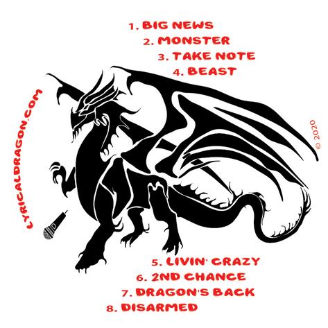 Lyrical Dragon Storm's Eye Album CD Artwork