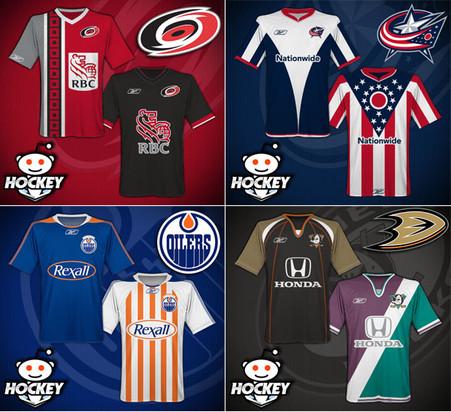 Hockey Shirt Mock-ups