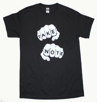 """Lyrical Dragon """"Take Note"""" Tee"""