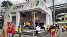 Sony Copa Display Comercial