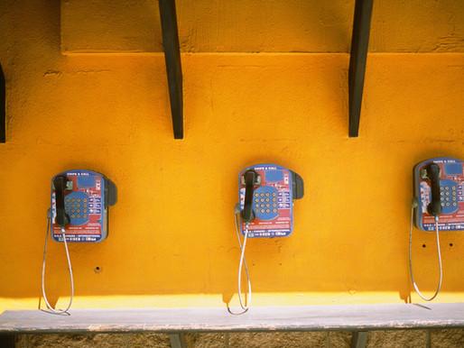 공중전화기를 만나다